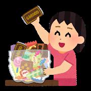 薬局内お菓子コーナーの戦い🍭